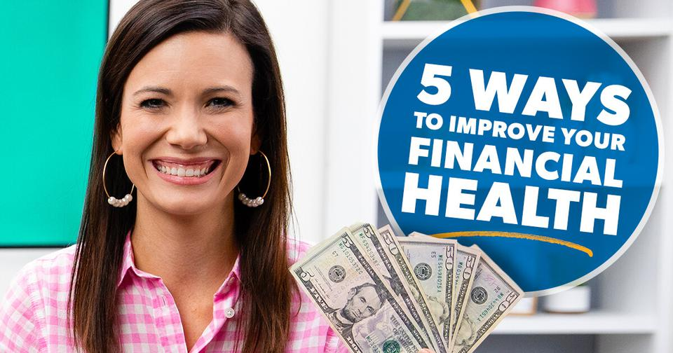 ways to improve financial health